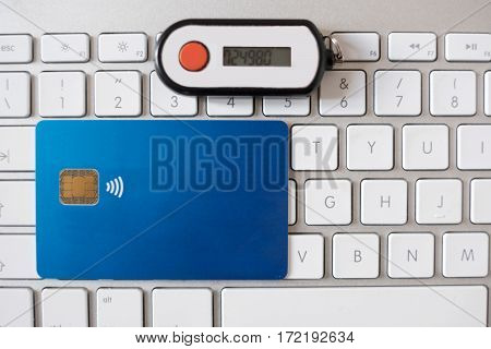 Contactless Credit Card And Security Pin