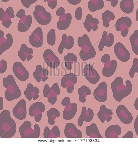 Pink leopard print. Seamless background for your design