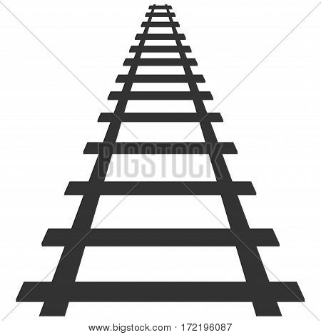 locomotive railroad silhouette track rail transport background transit route illustration