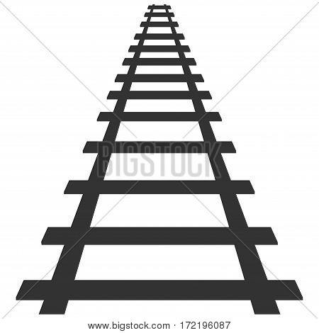 locomotive railroad silhouette track rail transport background transit route illustration
