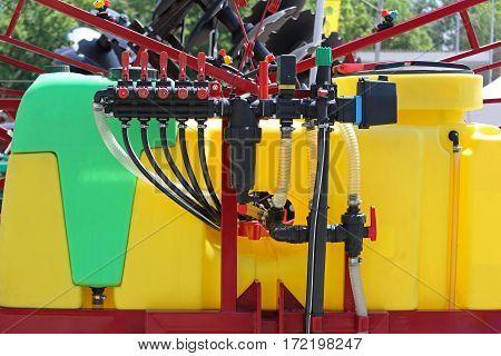 Agricultural Sprayer Pump With Mist Blower Atomizer
