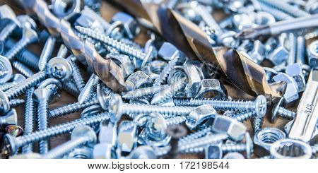 metal nuts and bolts, chrome nuts and bolts, steel nuts and bolts