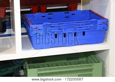 Plastic Crates for Delivery and Transportation Industry