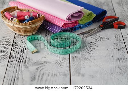 Home Sewing Hobby Workplace