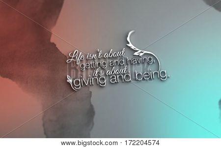 3D Motivational Poster