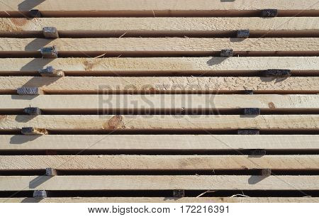 construction wood stack timber planks horizontal background