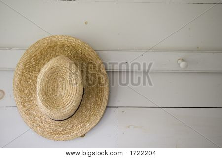 One Hat Hanging