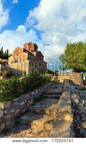 Church Of St. John Kaneo (ohrid, Macedonia)
