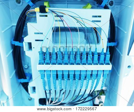 Optical Fiber communication Distribution point