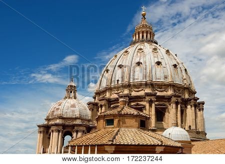 The Peter Basilica, Peter Square, Vatican City