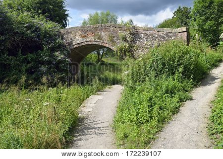 Stanton's Bridge over the Thames & Severn Canal Brimscombe Stroud Gloucestershire