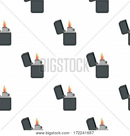 Lighter icon in cartoon style isolated on white background. Light source pattern vector illustration