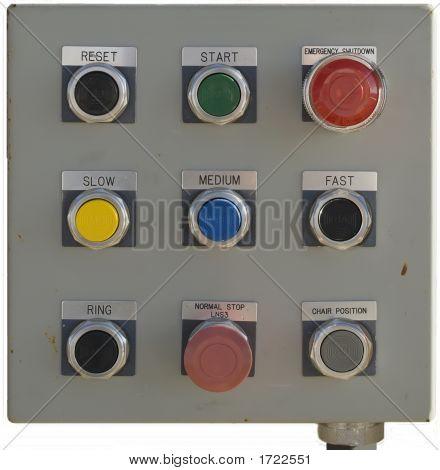 Tram Control Panel