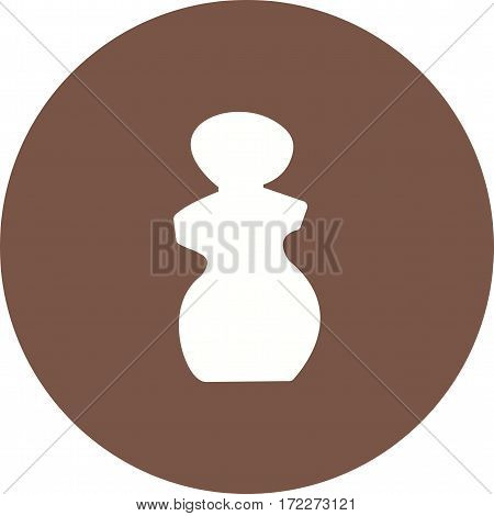 Sculpture, marble, head icon vector image. Can also be used for museum. Suitable for mobile apps, web apps and print media.