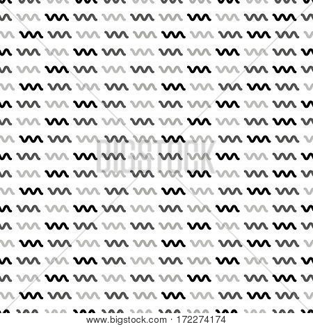 Seamless abstract pattern of simple geometric shapes. Suitable for design of cards, invitations, backgrounds for websites, promotional products.