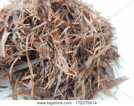 Detail Of Heap Of Dried Lapacho Tea