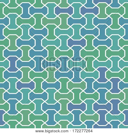 Seamless geometric colorful pattern for your designs and backgrpounds. Modern ornament with repeating elements