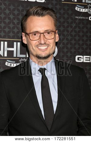 LOS ANGELES - JAN 27:  Ken Baker at The NHL100 Gala at Microsoft Theater on January 27, 2017 in Los Angeles, CA
