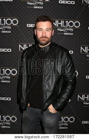 LOS ANGELES - JAN 27:  Clive Standen at The NHL100 Gala at Microsoft Theater on January 27, 2017 in Los Angeles, CA