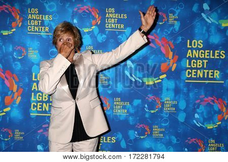 LOS ANGELES - SEP 24:  Diana Nyad at the Los Angeles LGBT Center 47th Anniversary Gala Vanguard Awards at the Pacific Design Center on September 24, 2016 in West Hollywood, CA