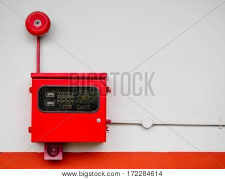 The industry power control box with alarm