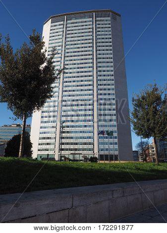 Pirelli Tower In Milan