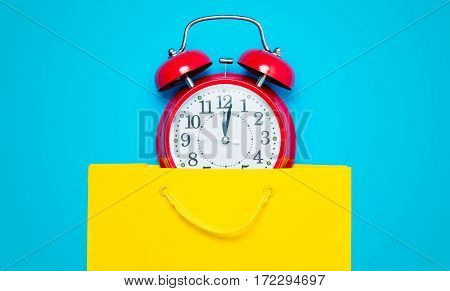 Clock In Bag