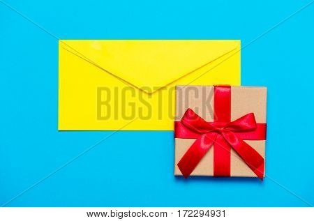 Envelope And Gift