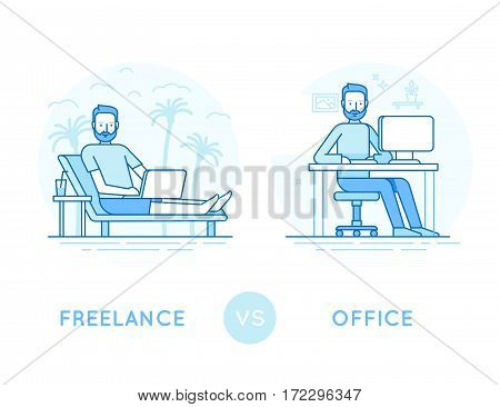 Freelance Vs Office