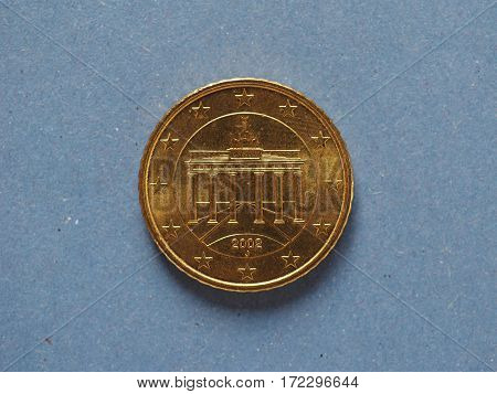 50 Cents Coin, European Union, Germany