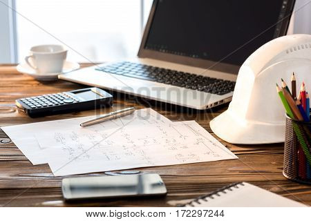 Structural Analysis Calculations Desktop Of A Civil Engineer