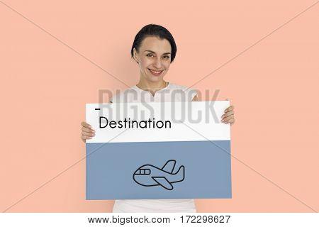 Holiday Journey Flight Travel Icon