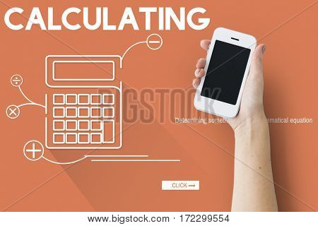 Calculating Budget Finance Investment Accounting Concept