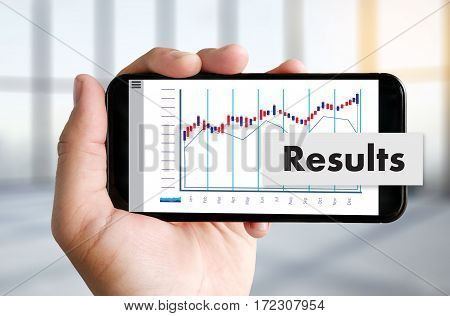 Forex Stock Market Results Stock Trade Report Forex Shares Business People Standard