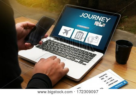 Touch Online Holiday Reservation Booking Interface To Go Trip Journey