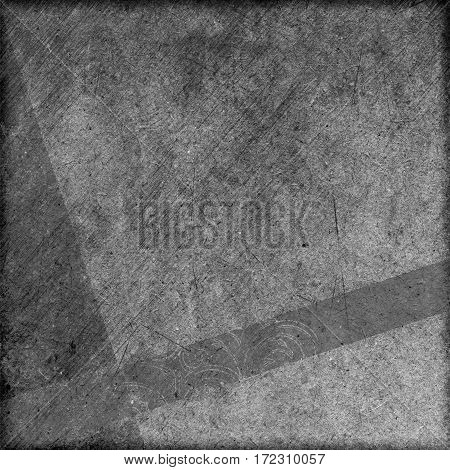 art design grunge monochrome cardboard background with space for text