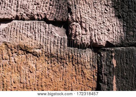 Laterite, Ancient Stone Texture.
