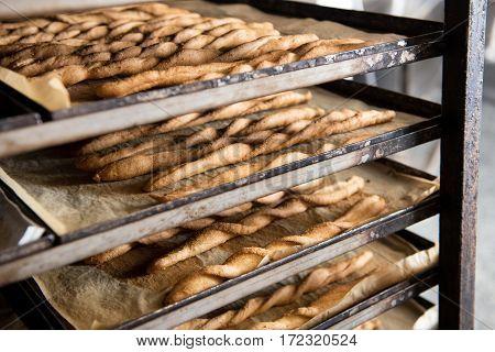 Fresh Baked Breadsticks