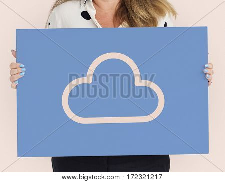 Cloud overlay word young people