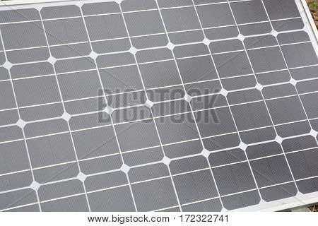 Solar Power or Solar Cell,  photovoltaic  panel.