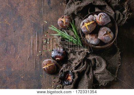 Roasted Chestnuts In The Ashes