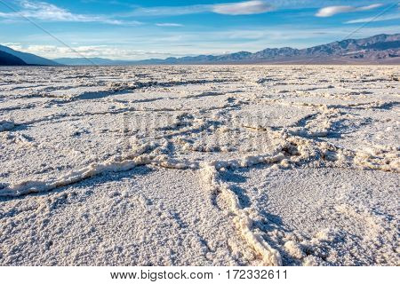 Death Valley National Park - Badwater Basin. California, USA.