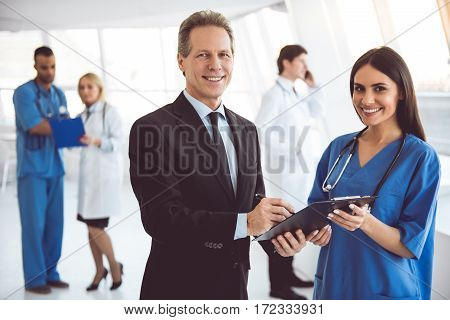 Doctor And Businessman