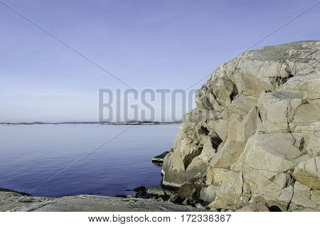 some rock on the swedish westcoast this is outside Gothenburg