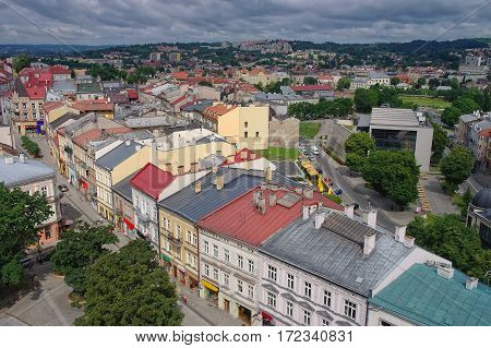Panoramic View Of Przemysl Town, Poland