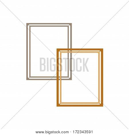Frame collection. Fashion graphic background design. Modern stylish abstract texture. Colorful template for prints textiles wrapping wallpaper website etc. Vector illustration