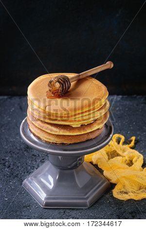 Ombre Turmeric Pancakes