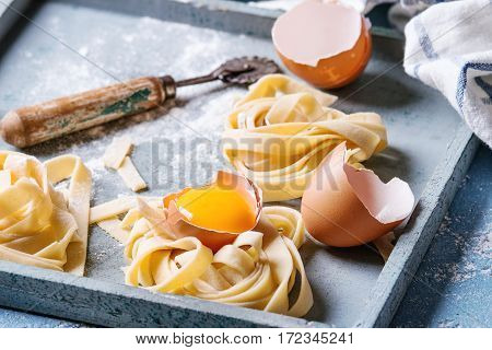 Fresh Homemade Pasta Tagliatelle