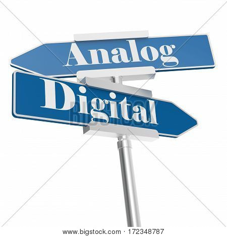 Analog Or Digital Signs