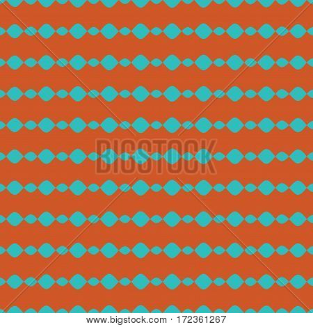 Ogee geometric seamless pattern. Fashion graphic background design. Modern stylish abstract texture. Color template for prints textiles wrapping wallpaper website. Stock VECTOR illustration